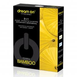 Dream On - Протектор матрак TERRY BAMBOO