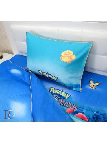 Дрийм Памучен сатен Спален комплект Покемон 2