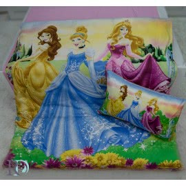 Роксима Дрийм Памучен сатен Спален комплект Три Принцеси