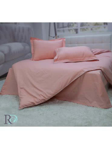 Роксима Дрийм, Розово - Памучен сатен Спален комплект