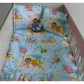 Роксима Дрийм, Зоопарк в Синьо Бебешки спален комплект