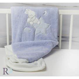Роксима Дрийм, Доди Синьо с Апликация Бебешко одеяло