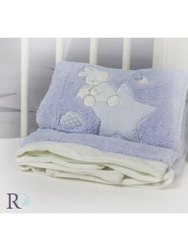 Роксима Дрийм, Доди Синьо с Апликация Бебешко одеяло 2