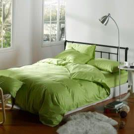 Декона - Ранфорс Спално бельо Зелен