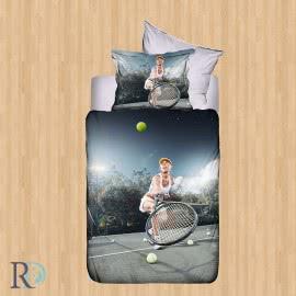 Роксима Дрийм Памучен сатен Спален комплект 3D Sport