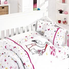 First Choice Бамбук Спално бельо Stork pink