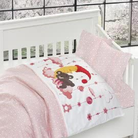 First Choice Бамбук Спално бельо Сънчо розов