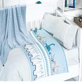 First Choice Бамбук Спален комплект с одеяло Ginny mavi