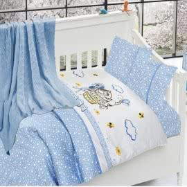 First Choice Бамбук Спален комплект с одеяло Kitty mavi