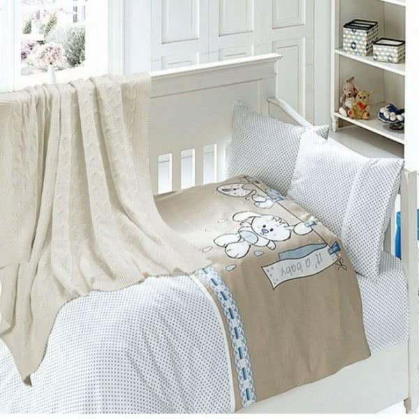 First Choice Бамбук Спален комплект с одеяло Baby mavi