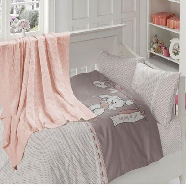 First Choice Бамбук Спален комплект с одеяло Baby pudra