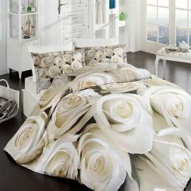 First Choice Памучен сатен 3D Спален комплект Blanch
