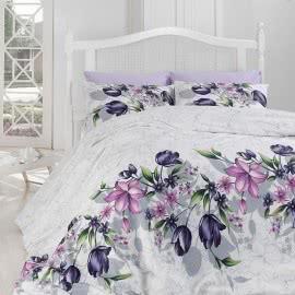 First Choice Ранфорс Спални комплекти Риела лила