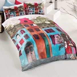 ISSIMO - Ранфорс Спални комплекти Colourful Street
