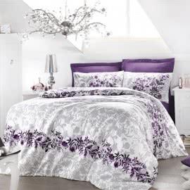 ISSIMO - Памучен сатен Спален комплект Violetta