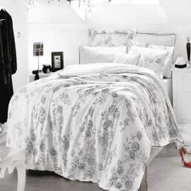 ISSIMO - Памучен сатен Спален комплект Rose Art