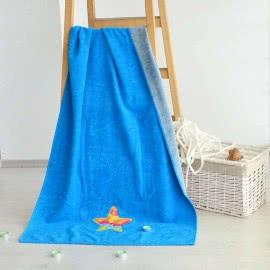 Панагюрище 1962 - Памук полиестер Плажна кърпа Тюркоаз морска звезда