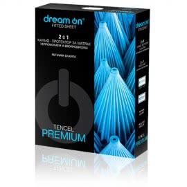 Dream On - Непромокаем и двойнодишащ протектор за матрак Premium Tencel
