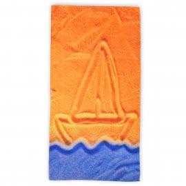 Панагюрище 1962 - Дигитален печат Плажна кърпа Пясъчна лодка