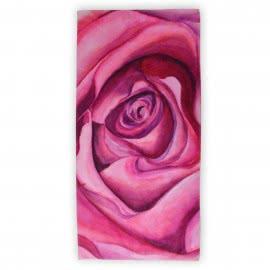 Панагюрище 1962 - Дигитален печат Плажна кърпа Роза