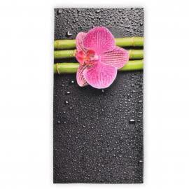 Панагюрище 1962 - Дигитален печат Плажна кърпа Орхидея