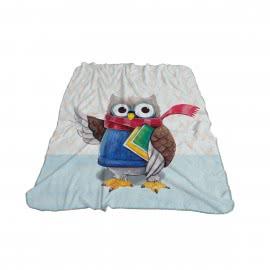 Панагюрище 1962- Детско одеяло фланел 3D принт Бухал