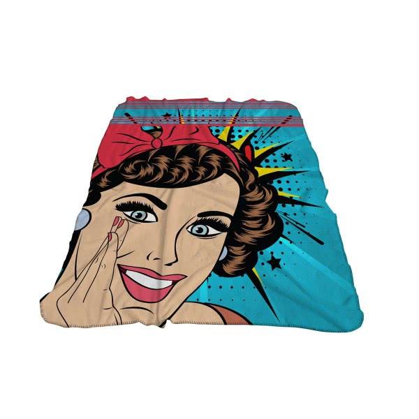 Панагюрище 1962- Детско одеяло фланел 3D принт Комикс