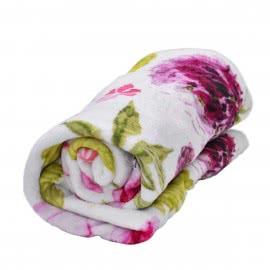 Панагюрище 1962 - Одеяло фланел с печат Цветя