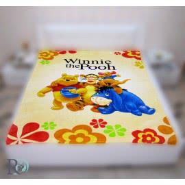 Роксима Дрийм - Детско одеяло Мечо Пух с приятели