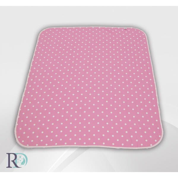 Роксима Дрийм - Памук Бебешко одеяло Розови точки