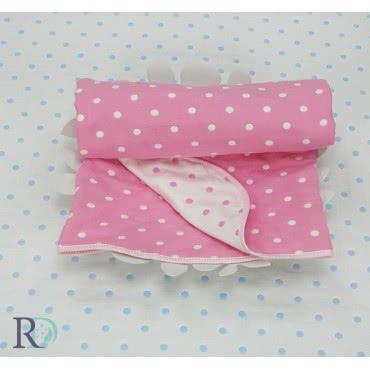 Роксима Дрийм - Памук Бебешко одеяло Розови точки 2