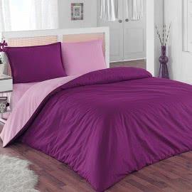 Виста 02 - Ранфорс Спално бельо Пурпура-Лила