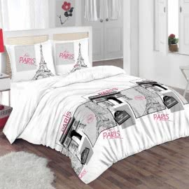 Виста 02 - Ранфорс Спален Комплект Париж