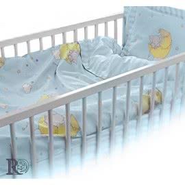 Роксима Дрийм Ранфорс Бебешко спално бельо Слонче синьо